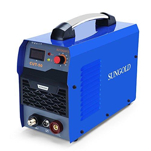 SUNGOLDPOWER CUT50 IGBT Plasma Schneider 50 Amp schneidet bis 15 mm Plasma CUT Inverter Schweißgerät Plasma Ausschnitt Maschine Plasmaschneider Cutting Cutter 230V
