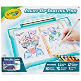 Crayola Light Up Tracing Pad Teal, Amazon Exclusive, Toys, Gift for Kids, Ages 6, 7, 8, 9, 10 (04-0830)