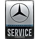 Nostalgic-Art Plaque vintage Mercedes-Benz – Service – Cadeau pour les...