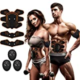 COSBITY ABS Stimulator,Ab Machine,Abdominal Toning Belt Workout Portable Ab Stimulator Home Office Fitness Workout Equipment for Abdomen/Arm/Leg