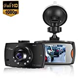 MASOMRUN Caméra Voiture Embarquée Conduite Enregistreur Full HD 2.4...