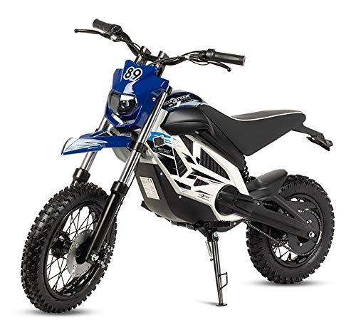 VIRTUE Moto electrica Potente Motocross Cross bateria 1000w 36v niños...