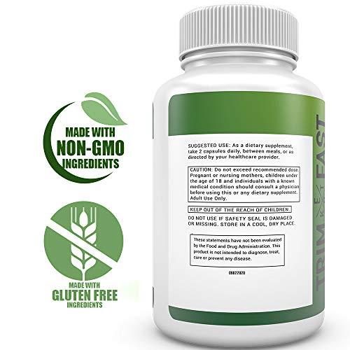 Trim Fast Keto Pills - Live Happy Keto Body Trim Fast Burn Supplement for Energy - BHB Ultra Boost Exogenous Ketones for Rapid Ketosis for Men Women- goBHB (3 Pack) 4