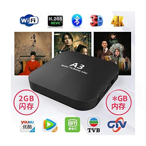 2020 A3 Chinese 2GB RAM+GB ROM Wireless Dual Band Bluetooth 4.0 Better Than HTV 700+ Mainland Hong Kong Taiwan Macao Mandarin Cantonese Channels 7 Days Playback