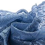 Ldawy Tela de encaje, cinta de encaje, 18x1000 cm Rollo de encaje floral vintage para coser bodas...