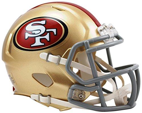 NFL Riddell Football Speed Mini Helm San Francisco 49ers