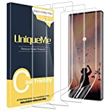 [2 Pack] UniqueMe Screen Protector For Samsung Galaxy Note 10 Plus/Samsung Galaxy Note 10+/Note 10 Plus 5G,TPU Clear Soft Film [ Case Friendly] Touch Sensitive