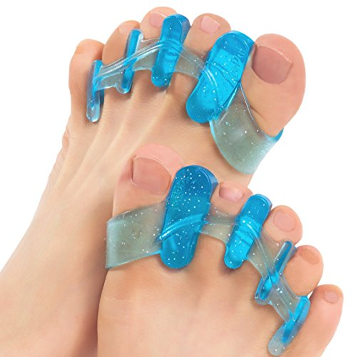 DR JK- Gel Toe Separators, Toe Stretcher and Toe Spacers. ToePal For Yoga. Instant Relief for Toes, Bunion Relief, Hammer Toes
