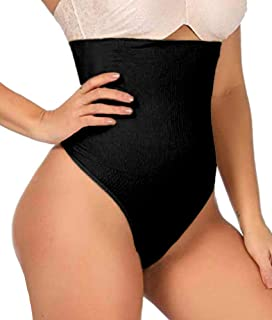 102 Thong Shaper – Womens Waist Cincher Trainer High-Waisted Girdle Faja Body Tummy..