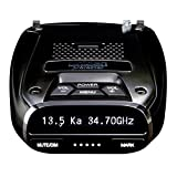 Uniden DFR7 Super Long Range Wide Band Laser/Radar Detector, Built-in GPS w/Mute Memory, Voice Alerts, Red Light & Speed Camera Alerts, OLED Display