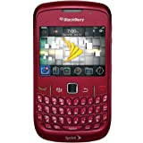 Sprint BlackBerry Curve 8530 No Contract WiFi QWERTY Camera Smartphone Red