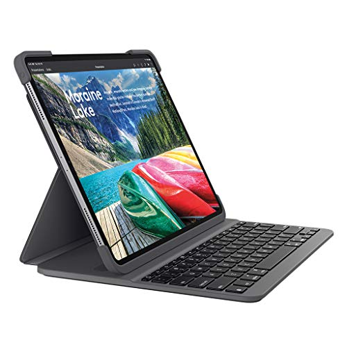 ロジクール iPad Pro 12.9インチ対応 キーボード iK1273 ブラック Bluetooth キーボード一体型ケース iPad Pro 12.9インチ対応 SLIM FOLIO PRO 国内正規品 2年間メーカー保証