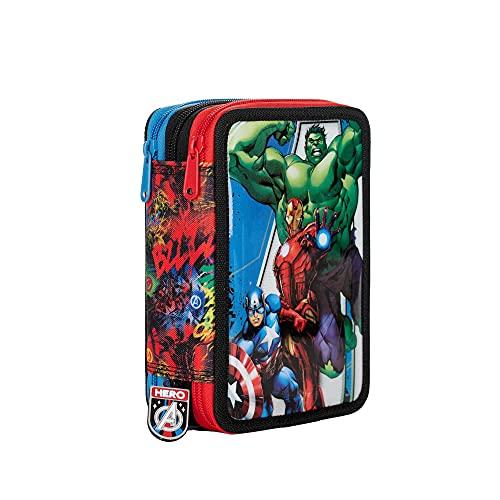 Marvel Avengers 21 Astuccio Triplo, Spidey, Giochi Preziosi, Multicolore