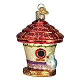 Old World Christmas Home Gifts Glass Blown Ornaments for Christmas Tree Charming Birdhouse