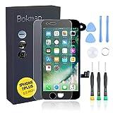 bokman Écran Tactile LCD pour iPhone 7 Plus Noir Vitre LCD Ecran Assemblé avec...