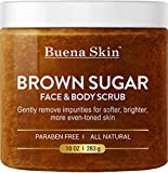 Brown Sugar Exfoliating Face & Body Scrub - Reduces the Appearance of...