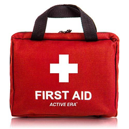 Botiquín de Primeros Auxilios de 90 Piezas - Con Hielo - Kit de Lavado de Ojos y Manta de Emergencia