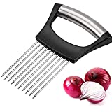 2pcs Food Slicer Assistant Onion Holder Fork, Powerful Handheld Stainless Steel...