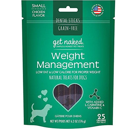 Get Naked Weight Management Dental Chew Sticks For...