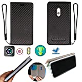 Case for IMO Q2 Plus Case Silicone Protection Ring + Flip Cover Stand Shell Black