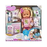 Nenuco - Cura Sana, muñeca para Jugar a los médicos con tu bebé, con tiritas...