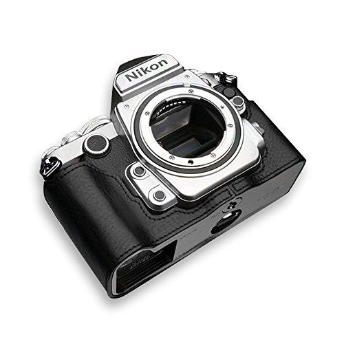 GARIZ Nikon Df用 本革カメラケース Gun Shot Ring付 XS-CHDFBK ブラック