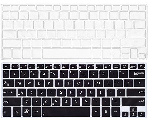 "2PCS Keyboard Cover for ASUS UX301LA UX302LG UX303LA UX303LB UX303LN UX303UA UX303UB UX305 UX305CA UX305FA UX305LA UX306UA UX330CA UX330UA UX42 Q302LA Q302UA Q304UA Q324UA / 14"" ASUS UX410UA UX430UA"