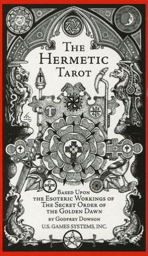 Hermetic Tarot Deck (Tarots Anglais)