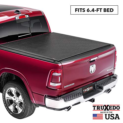 TruXedo Lo Pro Soft Roll Up Truck Bed Tonneau Cover | 546901 | fits 09-18, 19-20 Classic Ram 1500, 2500, 3500 6'4' bed