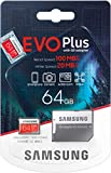 Carte mémoire Samsung Evo Plus 64 Go microSD SDXC Classe 10 (2020) modèle...
