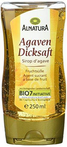 Alnatura Bio Agavendicksaft, vegan, 6er Pack (6 x 250 ml)