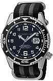 Momentum Men's Sports Watch M50 Nylon Dive Stainless Steel Japanese-Quartz Strap, Multi, 22 (Model: 1M-DV52B7S)