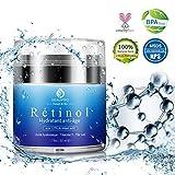 Crème Hydratants Visage, Rétinol, Acide hyaluronique,Anti-âge Creme,...