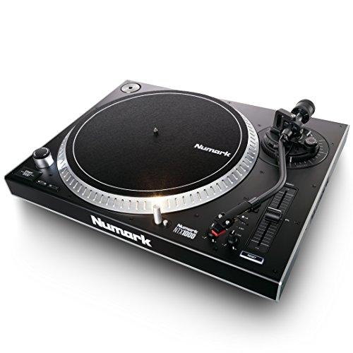 Numark NTX1000 - Giradischi Professionale per DJ con Trazione Diretta ad Alta Coppia, Braccio...
