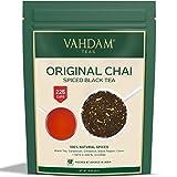 VAHDAM's India's Original Masala Chai Tea Loose Leaf (200+ Cups) | 100% NATURAL INGREDIENTS | MASALA TEA with Black Tea, Cinnamon, Cardamom, Cloves & Black Pepper | Brew ICED COLD Chai Latte or hot | 16 oz