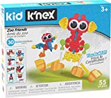 KID K'NEX – Zoo Friends Building Set – 55 Pieces – Ages 3 and Up – Preschool Educational Toy (Amazon Exclusive) (Toy)