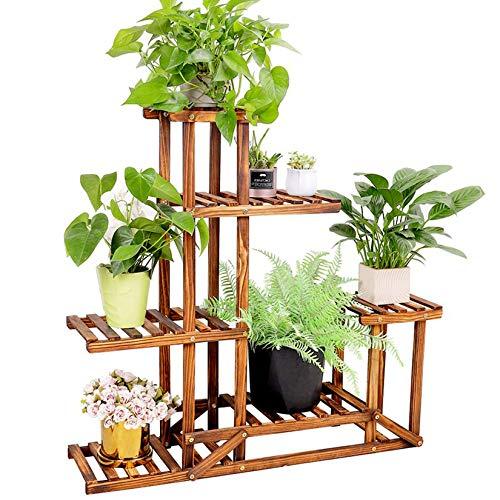 unho Wooden Shelf Tiered Flower Rack