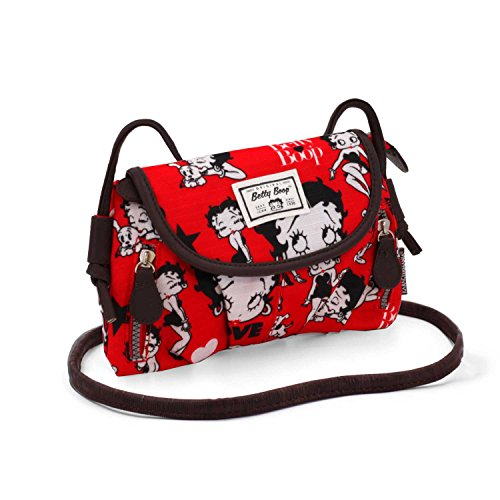 KARACTERMANIA Betty Boop Rouge-Clamy HS Shoulder Bag Red 22cm (Luggage)