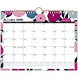 AT-A-GLANCE 2020 Monthly Wall Calendar, 11' x 8-1/2', Small, Badge Floral (W1282F-709)