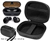 CaseSack Charger Box Protective case for ENACFIRE E18 Plus Wireless Earbuds, mesh Pocket for Cable and Other Accessories, Elastic Secure Strap, Ideal Storage and Carrying case