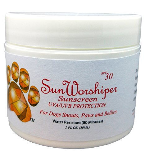 Sun Worshiper Sunscreen for Dogs Snouts, Paws, and...