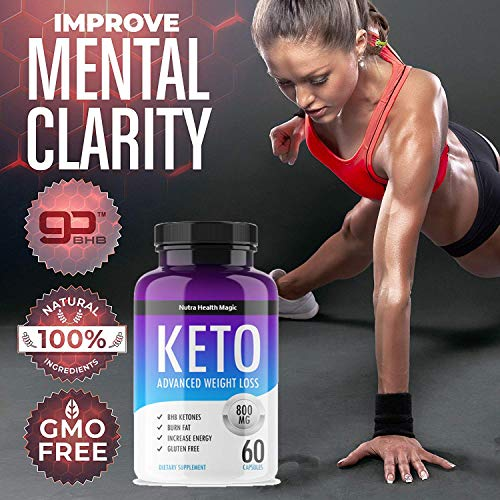QFL NUTRA Keto Diet Pills - exogenous Ketones-Utilize Fat for Energy with Ketosis - Boost Energy & Focus, Manage Cravings, Support Metabolism - Keto BHB Supplement for Women and Men - 90 Day Supply 4