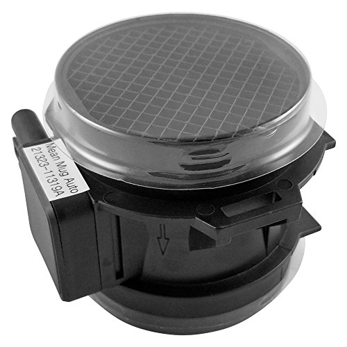 Mean Mug Auto 21323-11319A Mass Airflow Sensor Assembly - Compatible with BMW - Replaces OEM #: 13-62-7-566-984