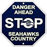 Included Components: Nfl Seattle Seahawks Stop Sign