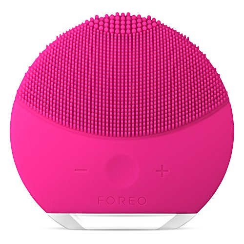 FOREO LUNA mini2 The Revolutionary T-Sonic Facial Cleansing Device, Fuchsia