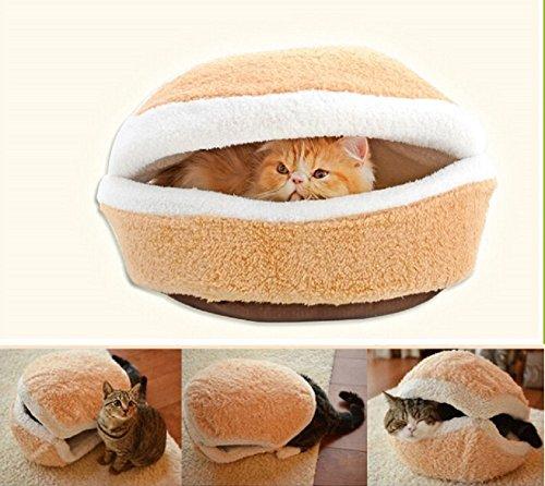 Gatto cestino Hamburger Gatto divano letto grotta letto cani cestino cani cuscino tb001