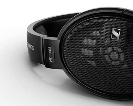 Sennheiser HD 660 S - HiRes Audiophile Open Back Headphone