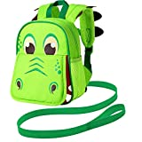 Backpack Leash, 9.5' Toddler Dinosaur Bag - Harness Safety with Removable Tether