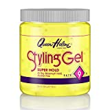 Queen Helene Styling Gel, Super Hold, 16 Ounce [Packaging May Vary]