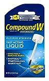 Compound W Fast Acting Liquid   Salicylic Acid Wart Remover   0.31 FL OZ